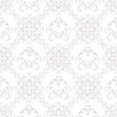Seamless Texture wallpapers in the style of Baroque . Background of gray and white color . Can be used for backgrounds and page fill web design — Vetor de Stock