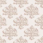 Sömlös bakgrund i barock-stil. Kan användas för bakgrunder och sidan fyllning webbdesign — Stockvektor