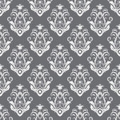 Seamless texture wallpapers in the style of Baroque . Can be used for backgrounds and page fill web design — Stock Vector