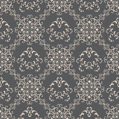 Floral pattern wallpapers in the style of Baroque . Can be used for backgrounds and page fill web design — Stock Vector