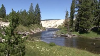 Yellowstone National Park — Stock Video