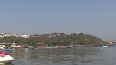 Goa Indian Port — Stock Video