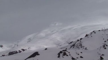 In the mountains near Elbrus — Stock Video
