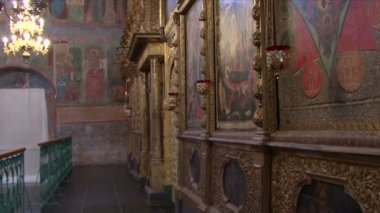 Part of the iconostasis — Stock Video