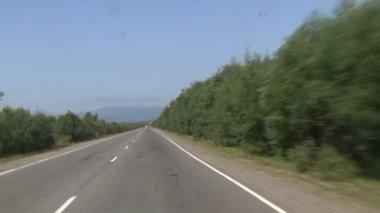 Kamchatka roads — Stock Video