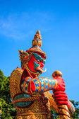 WAT KHAO RANG ( temple ) — Foto de Stock