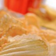 Potato Chips with other snacks — Foto de Stock   #67143293