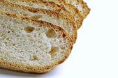 Skivat färskt bröd — Stockfoto