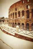 与雪,罗马,意大利体育馆 — 图库照片