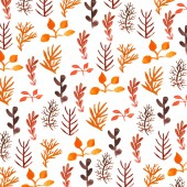 Floral watercolor vector — Stock Vector