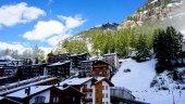 Scenic of Zermatt — Stock Photo