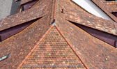 Roof detail in old town city Bern — Stock Photo