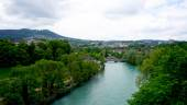 River and nature in bern — Stock Photo