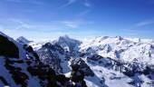 Titlis snow mountains — Stock Photo