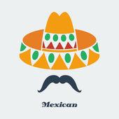 Vector mexican — Stock Vector