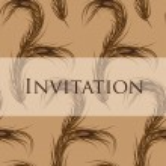 Vector wallpaper seamless. Invitation. Peacock Feather.  Fashion — Stock Vector #65343427