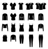 Zestaw ubrań — Zdjęcie stockowe