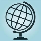Wektor świecie ikony — Wektor stockowy