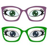 Eye Glasses — Vector de stock