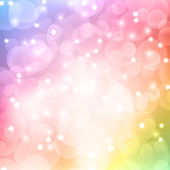 Color bokeh abstract light background. — Wektor stockowy