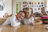 Two classmates — Stock Photo