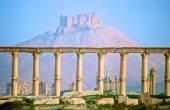 Castle from Palmyra — Stock Photo