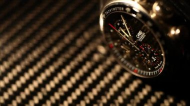 Expensive Watches on dark — Stock Video