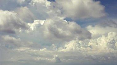 Blue sky background — Stock Video