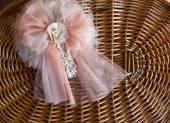 Decoration for baby girl — Zdjęcie stockowe