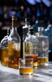 Whiskey in a Bar — Stock Photo