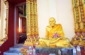 Świątyni buddyjskiej Wat Plai Laem na wyspie Koh Samui Tajlandia. — Zdjęcie stockowe