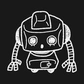 робот болвана — Cтоковый вектор