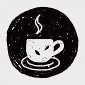 Doodle herbaty — Wektor stockowy