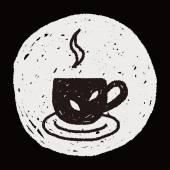 Doodle tea — Stock Vector