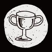 Doodle Reward — Cтоковый вектор