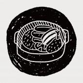 Doodle Stew — Stock Vector