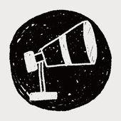 Teleskop ciągnione — Wektor stockowy