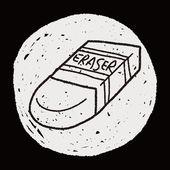 Doodle gum — Stockvector
