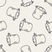 列印 seamless pattern background — Vetor de Stock
