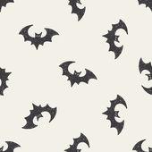 Bat doodle — Stock Vector