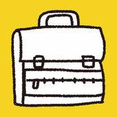 涂鸦的书包 — 图库矢量图片