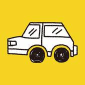 Doodle Car — Stock Vector