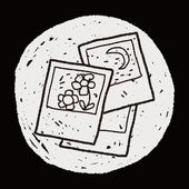 Travel pictrue doodle — Stock Vector