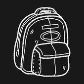 Doodle Sporttassen — Stockvector