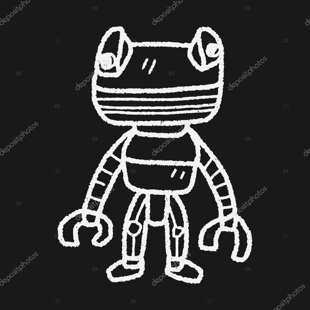 机器人涂鸦