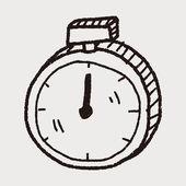 嘟嘟秒表 — 图库矢量图片