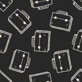Briefcase doodle — Stock Vector