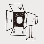 Photography light doodle — Wektor stockowy