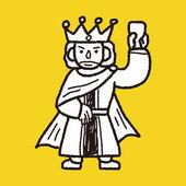 King doodle — ストックベクタ