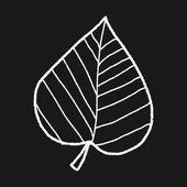 Plant doodle — Stockvektor